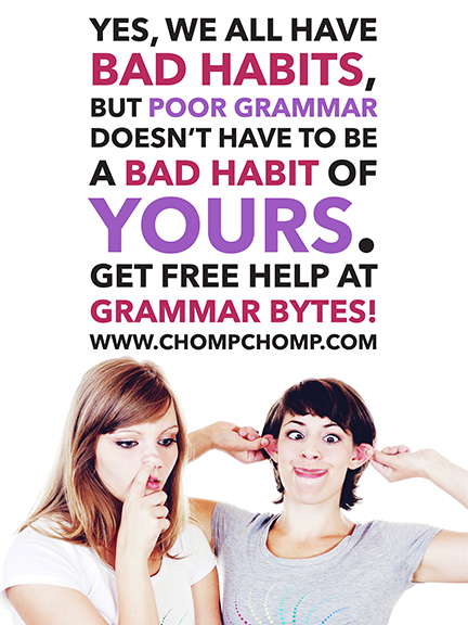 Grammar Bytes! Limited Edition Signed Poster (Print Run of 25)
